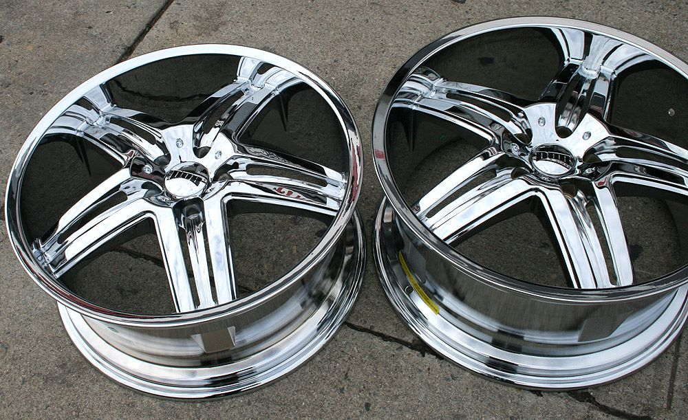 Dub Illusion S160 20 Chrome Rims Wheels Camaro 93 01 20 x 8 5 9 5 5H