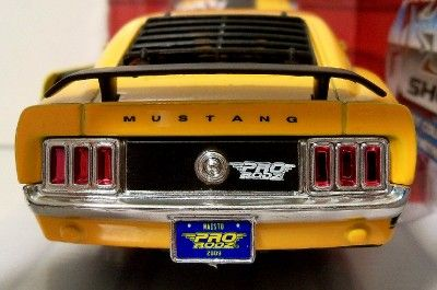 Ford Mustang Boss 306 Custom Shop Openning Hood & Doors Rubber Tires